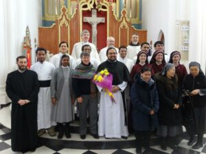 Priests, Sisters, Novices 2014