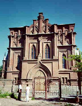 Most Holy Mother of God Catholic Church as it appeared in 1993.