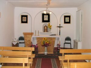 The small chapel in Romanovka in 2007.